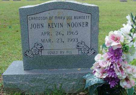 NOONER, JOHN KEVIN - Saline County, Arkansas | JOHN KEVIN NOONER - Arkansas Gravestone Photos