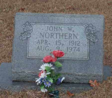 NORTHERN, JOHN W. - Saline County, Arkansas | JOHN W. NORTHERN - Arkansas Gravestone Photos