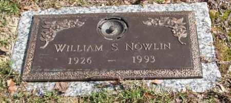 NOWLIN, WILLIAM S. - Saline County, Arkansas | WILLIAM S. NOWLIN - Arkansas Gravestone Photos