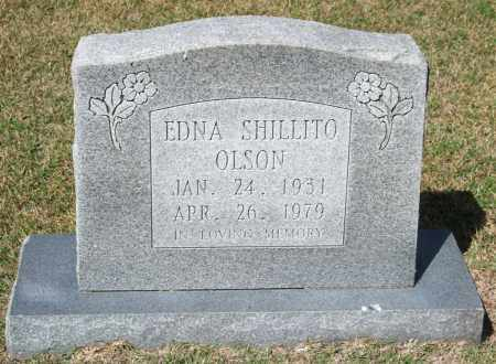 OLSON, EDNA - Saline County, Arkansas | EDNA OLSON - Arkansas Gravestone Photos
