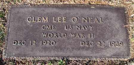 O'NEAL (VETERAN WWII), CLEM LEE - Saline County, Arkansas | CLEM LEE O'NEAL (VETERAN WWII) - Arkansas Gravestone Photos