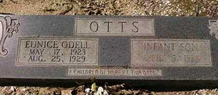 OTTS, INFANT SON - Saline County, Arkansas | INFANT SON OTTS - Arkansas Gravestone Photos