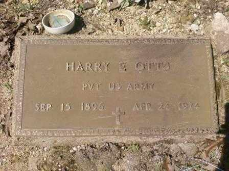 OTTS (VETERAN), HARRY  E - Saline County, Arkansas | HARRY  E OTTS (VETERAN) - Arkansas Gravestone Photos