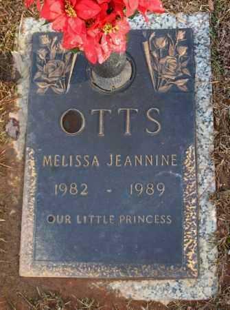 OTTS, MELISSA JEANNINE - Saline County, Arkansas | MELISSA JEANNINE OTTS - Arkansas Gravestone Photos