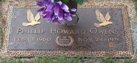 OWENS, PHILLIP HOWARD - Saline County, Arkansas | PHILLIP HOWARD OWENS - Arkansas Gravestone Photos