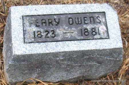 OWENS, PEARY - Saline County, Arkansas | PEARY OWENS - Arkansas Gravestone Photos