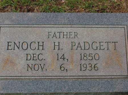 PADGETT, ENOCH H. - Saline County, Arkansas | ENOCH H. PADGETT - Arkansas Gravestone Photos