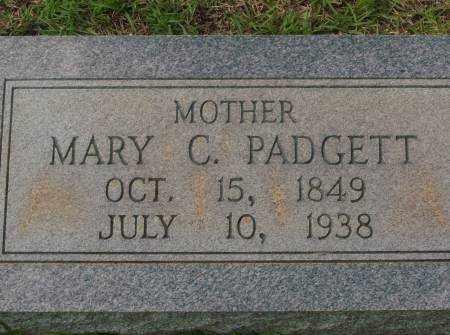 PADGETT, MARY C - Saline County, Arkansas | MARY C PADGETT - Arkansas Gravestone Photos