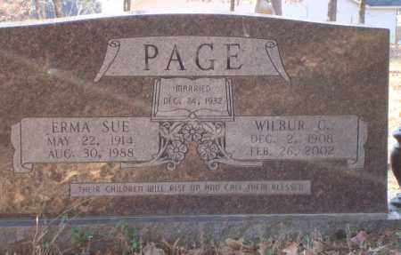 PAGE, WILBUR C. - Saline County, Arkansas | WILBUR C. PAGE - Arkansas Gravestone Photos