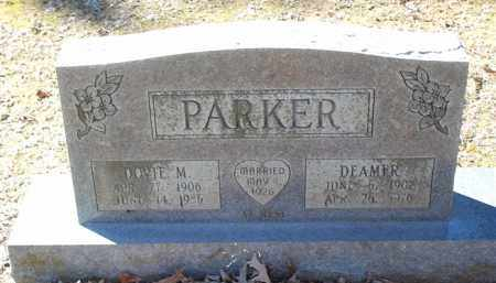 PARKER, DEAMER - Saline County, Arkansas | DEAMER PARKER - Arkansas Gravestone Photos