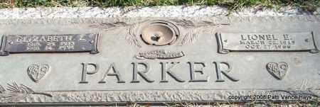 PARKER, ELIZABETH L. - Saline County, Arkansas | ELIZABETH L. PARKER - Arkansas Gravestone Photos