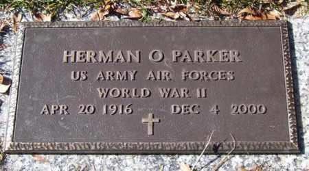 PARKER (VETERAN WWII), HERMAN O - Saline County, Arkansas | HERMAN O PARKER (VETERAN WWII) - Arkansas Gravestone Photos