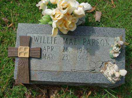 PARSONS, WILLIE - Saline County, Arkansas | WILLIE PARSONS - Arkansas Gravestone Photos