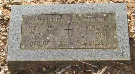 PATRICK, SAMANTHA SUE - Saline County, Arkansas | SAMANTHA SUE PATRICK - Arkansas Gravestone Photos
