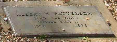 PATTERSON (VETERAN WWII), ALBERT H - Saline County, Arkansas | ALBERT H PATTERSON (VETERAN WWII) - Arkansas Gravestone Photos