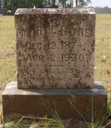 PAYNE, MARY C. - Saline County, Arkansas | MARY C. PAYNE - Arkansas Gravestone Photos