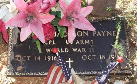 PAYNE (VETERAN WWII), ALTON JACKSON - Saline County, Arkansas | ALTON JACKSON PAYNE (VETERAN WWII) - Arkansas Gravestone Photos
