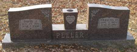 PEELER, FRANCES OLIVIA - Saline County, Arkansas | FRANCES OLIVIA PEELER - Arkansas Gravestone Photos