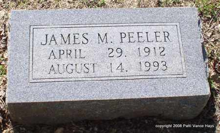 PEELER, JAMES MONROE - Saline County, Arkansas | JAMES MONROE PEELER - Arkansas Gravestone Photos