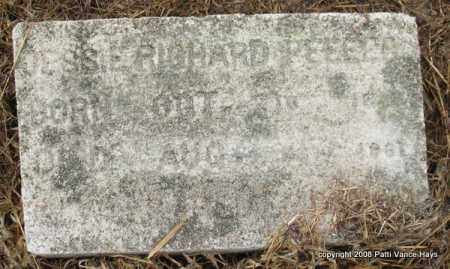 PEELER, JESSIE RICHARD - Saline County, Arkansas | JESSIE RICHARD PEELER - Arkansas Gravestone Photos