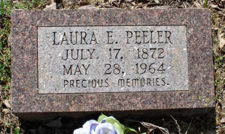 FLETCHER PEELER, LAURA ELLEN - Saline County, Arkansas | LAURA ELLEN FLETCHER PEELER - Arkansas Gravestone Photos