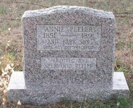 "NEEDHAM PEELER, SARAH ANNA ""ANNIE"" - Saline County, Arkansas 
