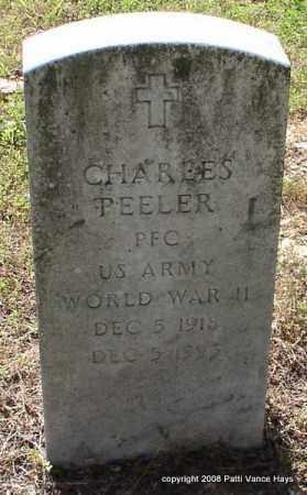 PEELER (VETERAN WWII), CHARLES - Saline County, Arkansas | CHARLES PEELER (VETERAN WWII) - Arkansas Gravestone Photos