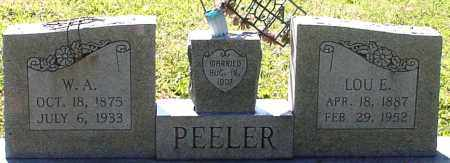 PEELER, LOU E. - Saline County, Arkansas | LOU E. PEELER - Arkansas Gravestone Photos