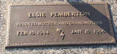 PEMBERTON, ELSIE - Saline County, Arkansas | ELSIE PEMBERTON - Arkansas Gravestone Photos