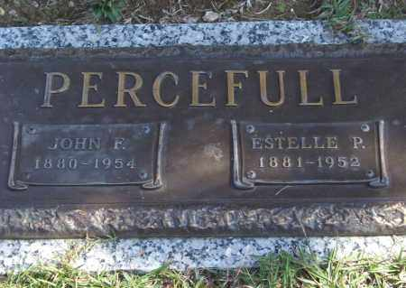 PERCEFULL, ESTELLE P. - Saline County, Arkansas | ESTELLE P. PERCEFULL - Arkansas Gravestone Photos