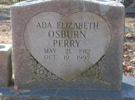 PERRY, ADA ELIZABETH - Saline County, Arkansas | ADA ELIZABETH PERRY - Arkansas Gravestone Photos