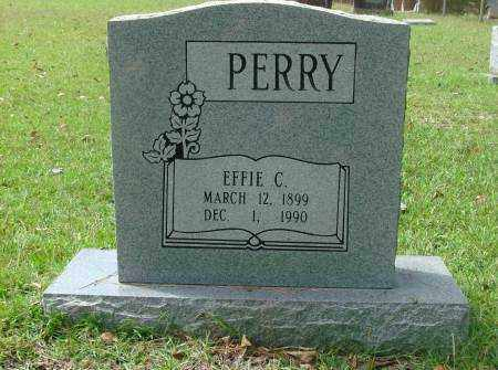 PERRY, EFFIE - Saline County, Arkansas | EFFIE PERRY - Arkansas Gravestone Photos