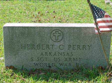 PERRY  (VETERAN WWII), HERBERT C - Saline County, Arkansas | HERBERT C PERRY  (VETERAN WWII) - Arkansas Gravestone Photos