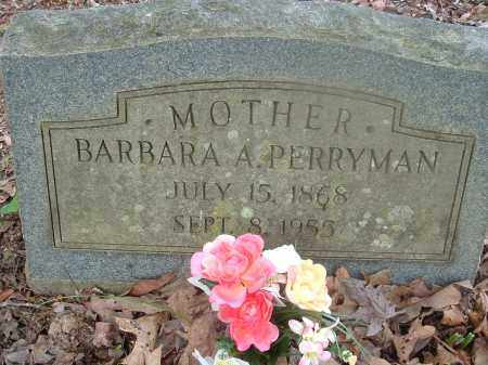 MCCAIN PERRYMAN, BARBARA - Saline County, Arkansas | BARBARA MCCAIN PERRYMAN - Arkansas Gravestone Photos