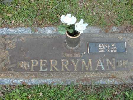 PERRYMAN, EARL W. - Saline County, Arkansas | EARL W. PERRYMAN - Arkansas Gravestone Photos