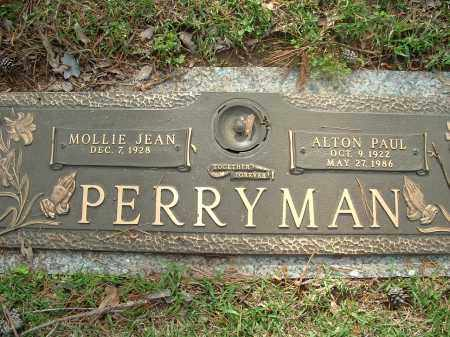 PERRYMAN, ALTON PAUL - Saline County, Arkansas | ALTON PAUL PERRYMAN - Arkansas Gravestone Photos