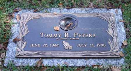 PETERS, TOMMY R. - Saline County, Arkansas | TOMMY R. PETERS - Arkansas Gravestone Photos