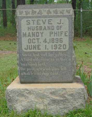 PHIFE, STEVE J - Saline County, Arkansas | STEVE J PHIFE - Arkansas Gravestone Photos