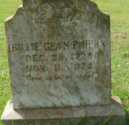 PHIPPS, BILLIE GEAN - Saline County, Arkansas | BILLIE GEAN PHIPPS - Arkansas Gravestone Photos