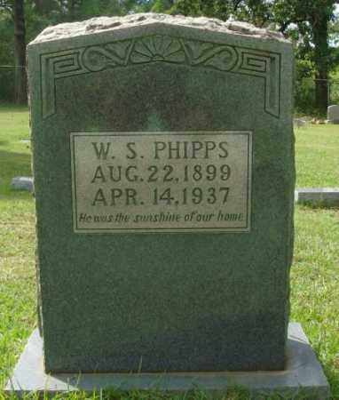 PHIPPS, W.S. - Saline County, Arkansas | W.S. PHIPPS - Arkansas Gravestone Photos