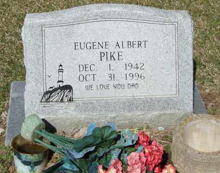 PIKE, EUGENE ALBERT - Saline County, Arkansas | EUGENE ALBERT PIKE - Arkansas Gravestone Photos
