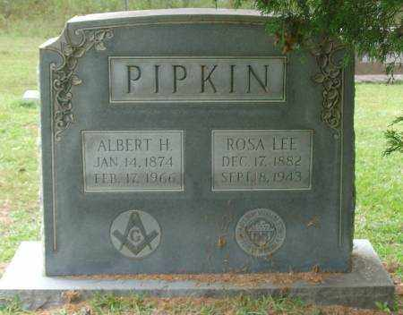 PIPKIN, ALBERT H - Saline County, Arkansas | ALBERT H PIPKIN - Arkansas Gravestone Photos