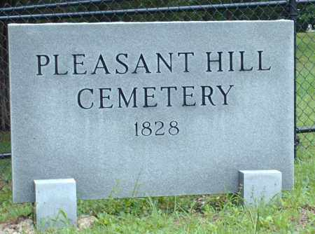 * PLEASANT HILL CEMETERY, SIGN - Saline County, Arkansas | SIGN * PLEASANT HILL CEMETERY - Arkansas Gravestone Photos