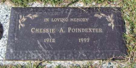 POINDEXTER, CHESSIE A. - Saline County, Arkansas | CHESSIE A. POINDEXTER - Arkansas Gravestone Photos