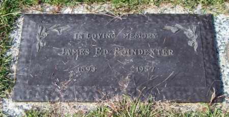 POINDEXTER, JAMES ED - Saline County, Arkansas | JAMES ED POINDEXTER - Arkansas Gravestone Photos