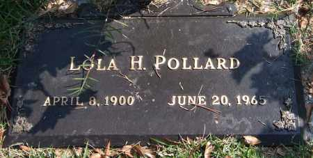 POLLARD, LOLA H. - Saline County, Arkansas | LOLA H. POLLARD - Arkansas Gravestone Photos