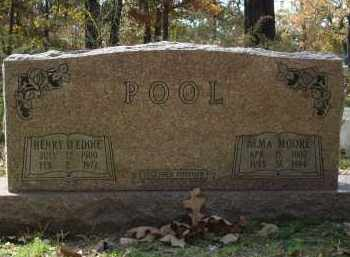 MOORE POOL, ALMA - Saline County, Arkansas | ALMA MOORE POOL - Arkansas Gravestone Photos