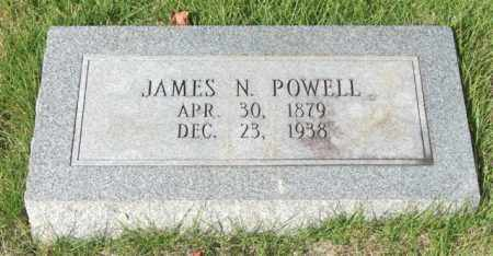 POWELL, JAMES N. - Saline County, Arkansas | JAMES N. POWELL - Arkansas Gravestone Photos