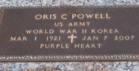 POWELL (VETERAN 2 WARS), ORIS C - Saline County, Arkansas | ORIS C POWELL (VETERAN 2 WARS) - Arkansas Gravestone Photos