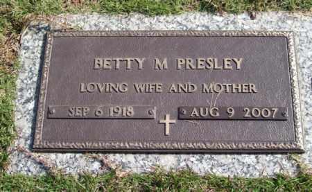 PRESLEY, BETTY M. - Saline County, Arkansas | BETTY M. PRESLEY - Arkansas Gravestone Photos
